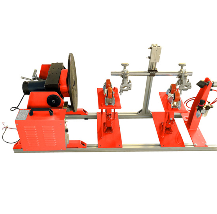 双枪环缝自动焊接变位机